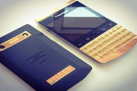 New Blackberry Porsche Design 9981 Gold Edition with VIP PIN