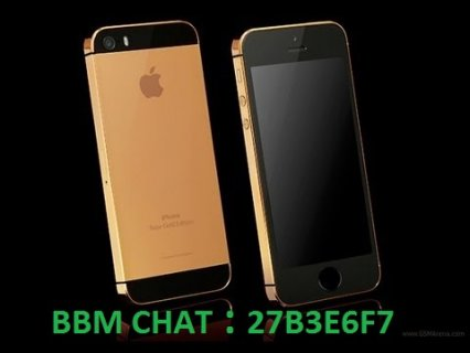 New releast Apple iPhone 5S 24 carat Gold