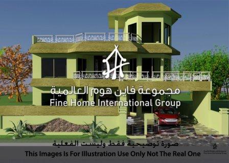 للايجار فيلا (7 غرف )  في منطقة المشرف – أبوظبي L_91))