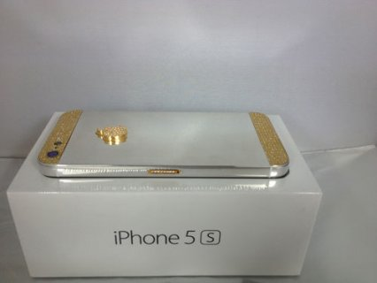 (Add Pin : 233DAA2F ) Gold Apple IPhone 5S