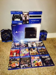 Sony PlayStation 4 * PS4 * EXTREME BUNDLE!!!!