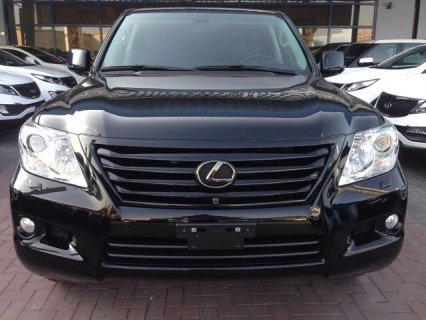 2011 LEXUS LX570 black edition
