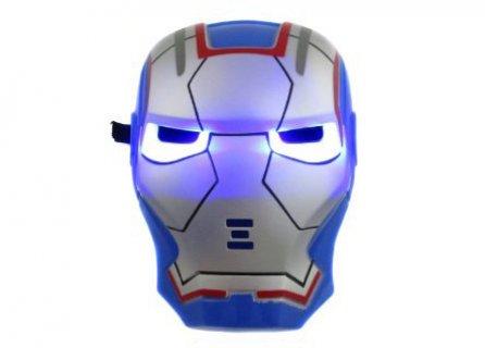 قناع ضوئي أيران مان  Blue Iron man