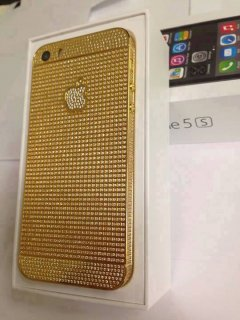 24ct IPhone 5s Gold add Pin 233DAA2F