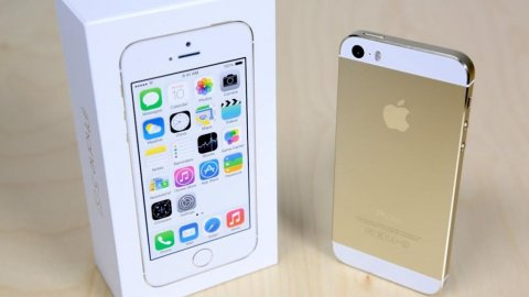 صور $Apple iPhone 5S Gold 3