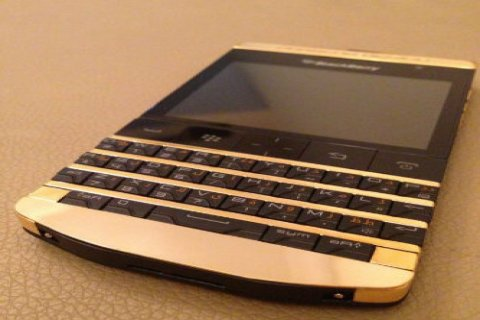 New Blackberry Porsche P9981 with Vip Pin
