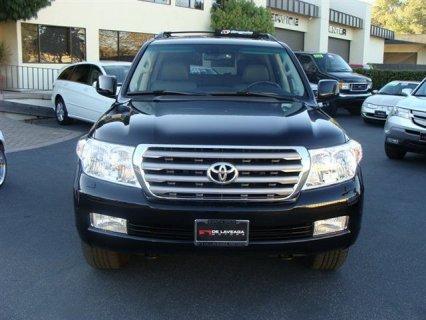 my Toyota land cruiser 2011 V8 full option car for sale
