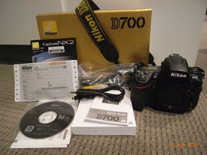 العلامة التجارية الجديدة نيكون D700 DSLR كاميرا الهيئة فقط