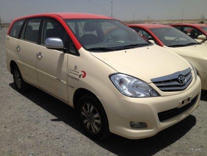 Toyota Innova from Dubai Taxi