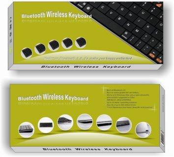 New Universal Aluminum 7 Bluetooth Wireless Slim Keyboard