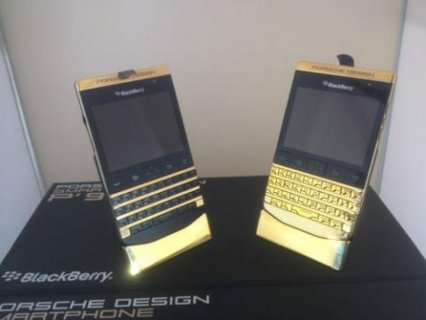New Blackberry Porsche Design Gold, Apple iPhone 5s Gold