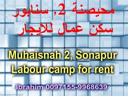 Labour camp for rent in Muhaisnah 2 / سكن عمال للإيجار في محيصنة