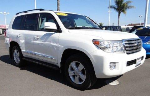 2013 Toyota Land Cruiser  V8 قاعدة