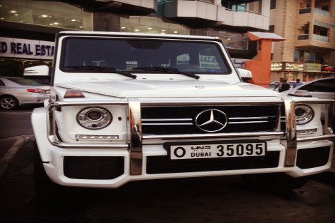 جي 63 موديل 2014 للتاجير في دبي