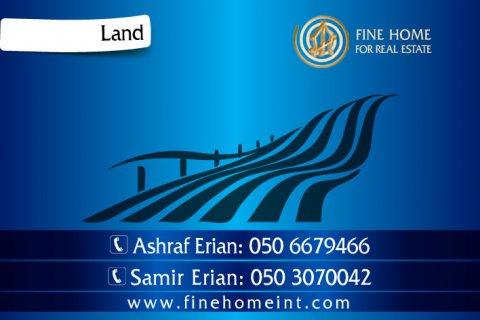 للبيع أرض سكنية في منطقة بين الجسرين _ أبو ظبي  _L_23