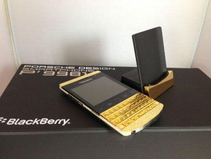 الجديد بلاك بيري بورش P9981 24CT الذهب / ابل اي فون 5S 24CT الذه