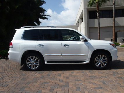 selling: My 2013 lexus lx 570 full option