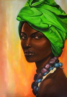 لوحات فنية للرسامة فريدة درويش
