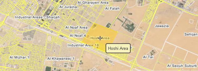 Sharjah, Hoshi area, land for sale / الشارقة, الحوشي, أرض للبيع