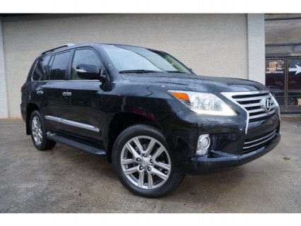 LEXUS LX 570 2013 FAIRLY USED