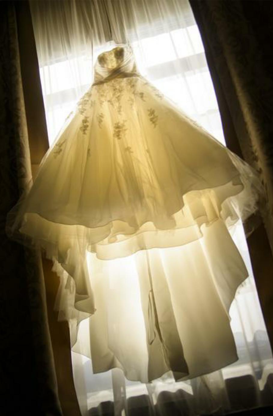 فستان عرس للبيع في ابوظبي