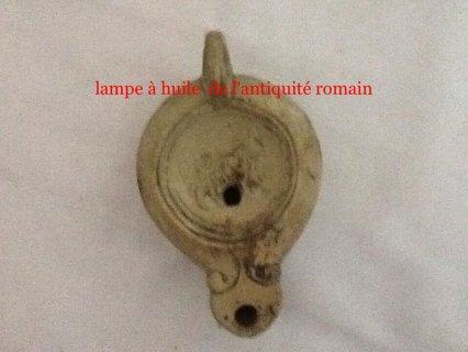 oil lamp B.C