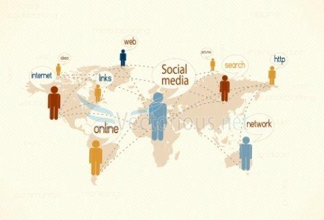 دورة الأستخدام التفاعلي للمواقع الإجتماعية فالأعمال