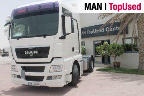 شاحنة راس مان للبيع من شركة مان توب يوزد .