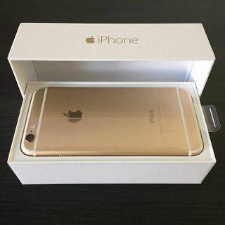 New Apple Iphone 6 & 6 Plus 128gb gold