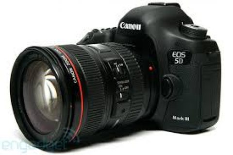 Canon EOS 5D Mark 3 Camera