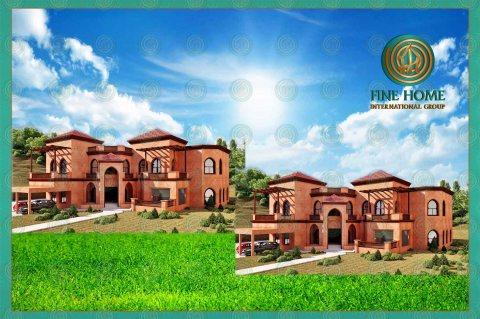 مجمع فيلتين للبيع في المشرف _أبوظبي_CO_424
