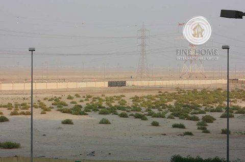 للبيع أرض سكنية تجارية في مدينة شخبوط_ أبوظبيL_1230