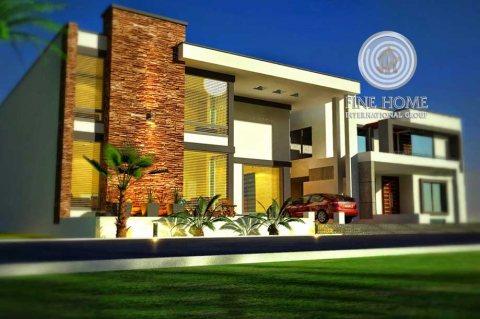 للبيع..فيلا 5 غرف في الحي العربي في الريف-أبوظبي