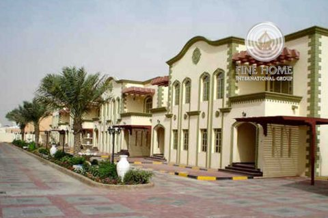 للبيع...مجمع 6 فلل بتصميم رائع في مدينة خليفة ابوظبي