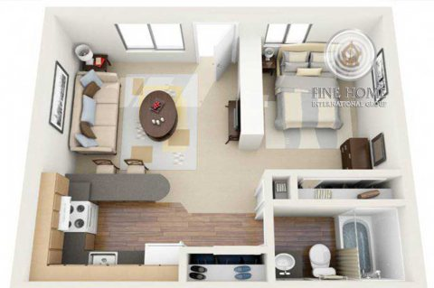 للبيع ...شقة رائعة في المارينا هايتس 1 ابوظبي