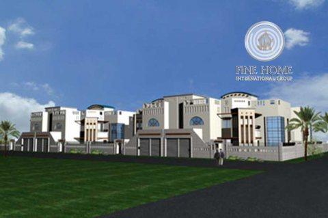 للبيع مجمع 4 فلل 12 غرفة في الكرامة ,ابوظبي