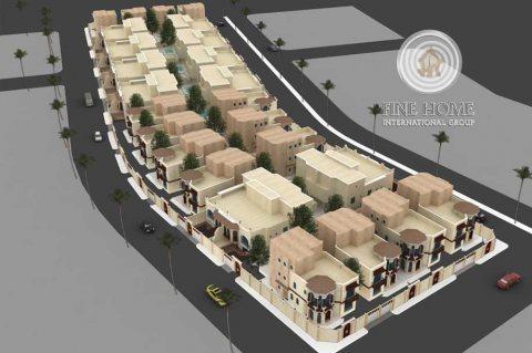 للبيع مجمع 3 فلل 21 غرفة في المقطع ,أبوظبي