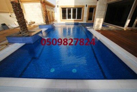 شركة تنفيذ احواض سباحة في الامارات (حمامات سباحة) لاندسكيب