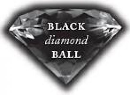 The diamond is rare black