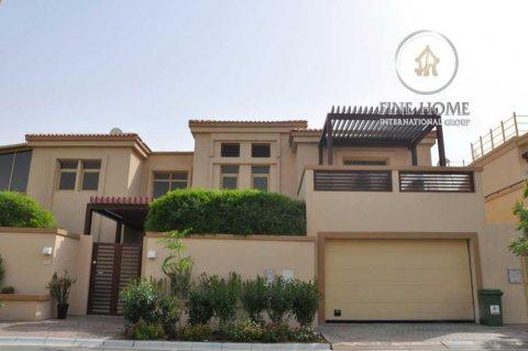 للبيع فيلا 5 غرف رائعة في حدائق الجولف, أبوظبي