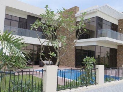 للبيع فيلا جاهزة باضخم مشروع استثماري في دبي  مع عرض خصم على رسوم التسجيل 100%