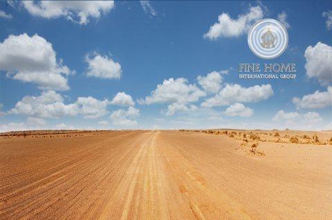 للبيع أرض سكنية 31 الف ٌق.م في مدينة زايد. أبوظبى