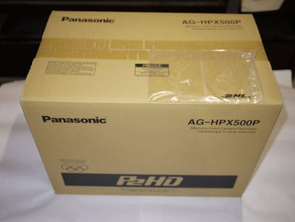 Panasonic AG-HPX500 HD P2 Camcorder/Sony PMW-200