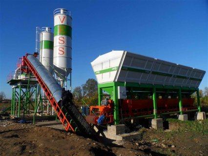 مصنع الخرسانة جاهزة دات طاقة إنتاجية 30 متر مكعب في ساعة
