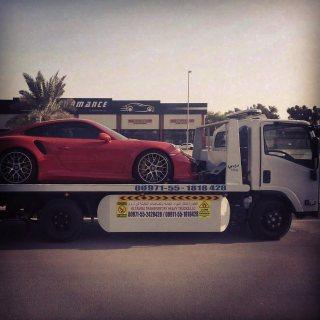 شركة شحن سيارات في الامارات