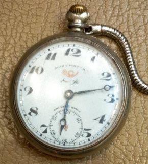 ساعة جيب قديمه من سنة ١٩١٥