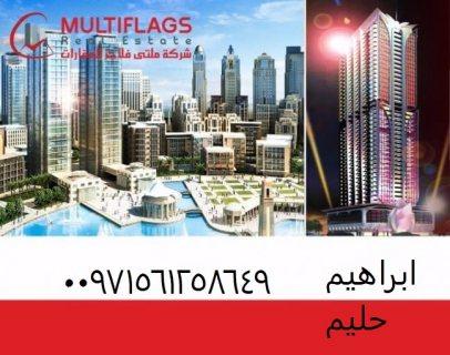 على شارع الشيخ محمد بن زايد  تملك غرفه و صاله بمقدم 32000درهم