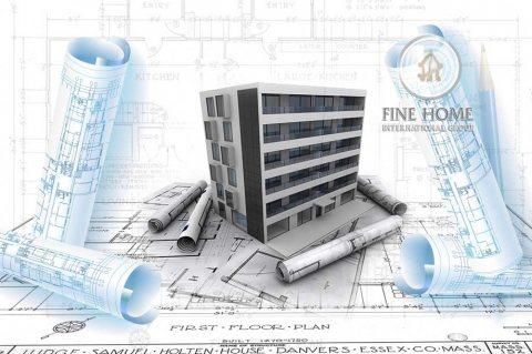 للبيع بناية تطل علي 3 شوارع في منطقة المصفح الشعبية .ابوظبي