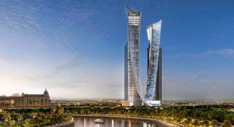 شقتك علي شارع الشيخ زايد مباشرا وباطلالة علي برج خليفة
