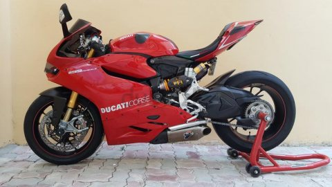 Panigale 1199S With Full Accessories For Sale!
